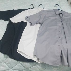 3 Roundtree & Yorke button down shirts